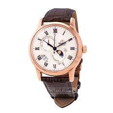 Đồng hồ nam dây da Orient Sun and Moon gen 3 FAK00001Y0 ( Rose gold)