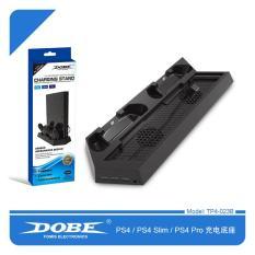 Đế Đứng Tản Nhiệt Dobe Kèm Dock Sạc Dành Cho Máy PS4/PS4 Slim/PS4 Pro