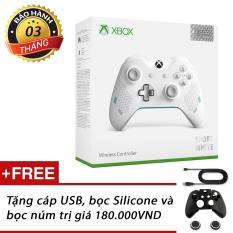 Tay chơi game Xbox One (bản Sport White)