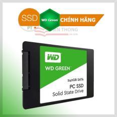 Ổ Cứng SSD WD Green 240GB 3D NAND – WDS240G2G0A – Hãng phân phối chính thức (PT)