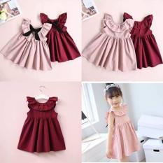 Váy nơ bèo cực yêu dành cho bé gái