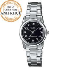 Đồng hồ nữ dây kim loại Casio Anh Khuê LTP-V001D-1BUDF