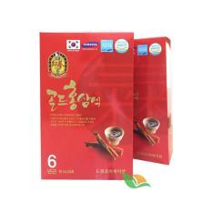 Combo 2 Hộp nước uống Hồng sâm Hàn Quốc (70ml x 5 gói/hộp)