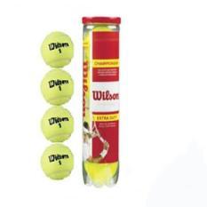 Bộ 4 lon bóng tennis wilson đỏ 4