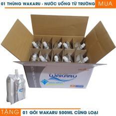 Mua 1 thùng nước uống từ trường Wakaru tặng 1 gói 500ml cùng loại