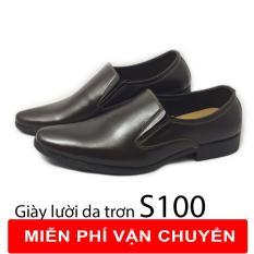 Giày Tây Nam – Giày Da Nam Công Sở Giá Rẻ – Giay Tay Nam – S86 (Đen)
