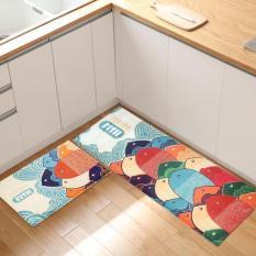 Bộ 2 thảm 3D nhà bếp tiện dụng sang trọng – mẫu ngẫu nhiên