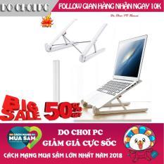 Giá Đỡ Gấp Laptop cho Macbook và PC Tặng 02 Miếng đỡ khung laptop phù hợp mọi kích cỡ