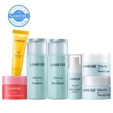 Combo mini dưỡng da trắng mịn dành cho mọi loại da Laneige White Dew
