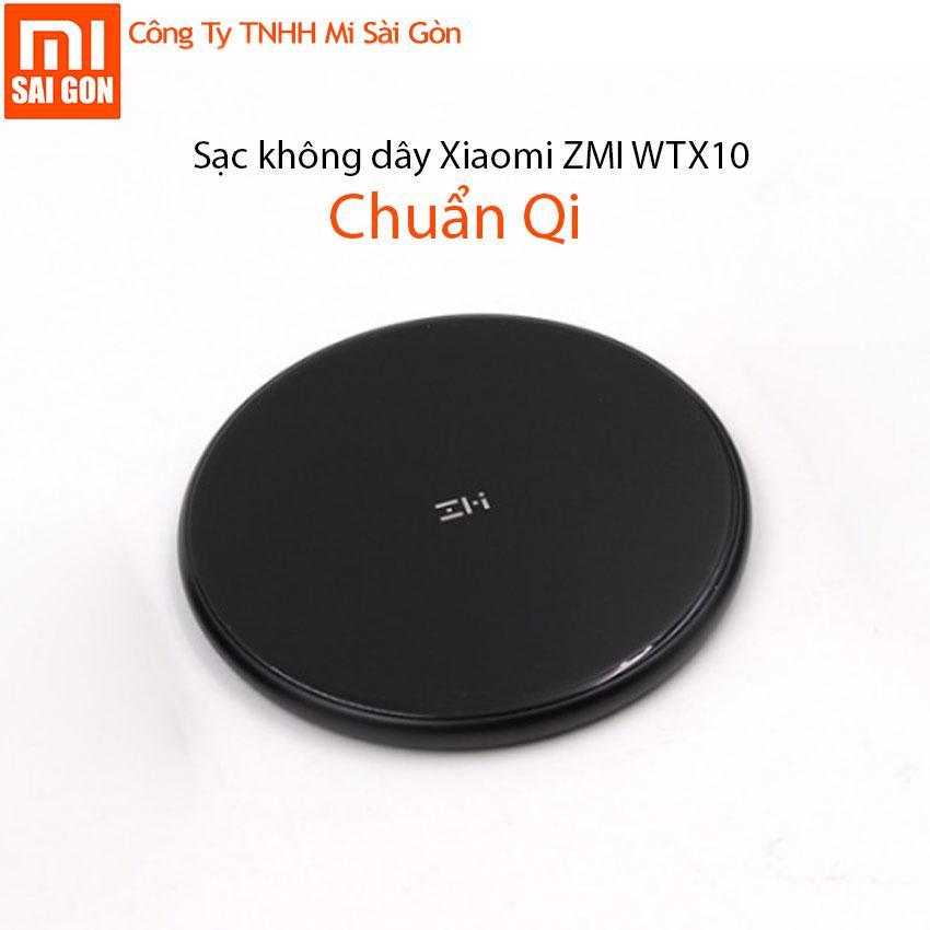 Sạc không dây xiaomi ZMI WTX10 – Chuẩn QI