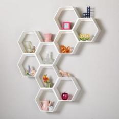 Modul kệ tổ ong DIY vô tận