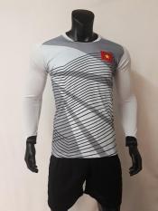 Quần áo thủ môn Việt Nam xám tay dài Bùi Tiến Dũng u23