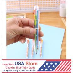 Bút Bi Vạch Kế Hoạch 6 Màu (Cực tiện khi ghi chú) – [FREESHIP Đơn >79K]