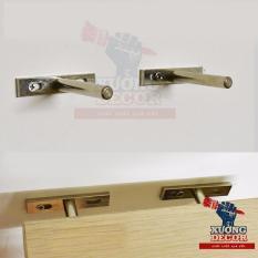 Chốt âm tủ kệ treo tường T12.7 cm bộ 2 chiếc