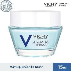 Mặt nạ ngủ cung cấp nước tức thì Vichy Aqualia 15ml