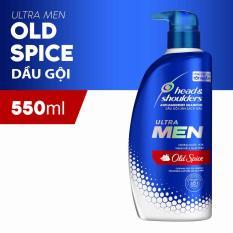 Dầu Gội Cho Nam Head&Shoulders UltraMen Nước Hoa OldSpice 550ml