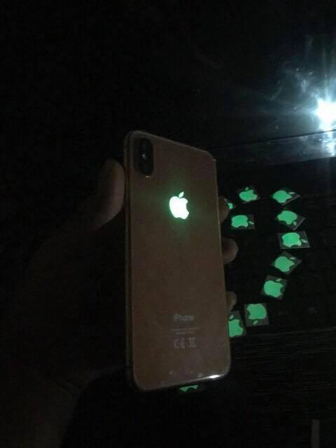 Nên mua Logo Táo Phát Sáng Dành Cho Iphone 4/5/6/7/8/X (sáng xanh ) PDL ở Hai Yen 66688