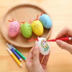 Đồ chơi trứng tô màu kèm 4 bút dạ cho bé
