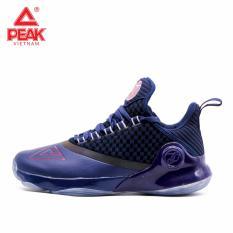 Giày bóng rổ PEAK Tony Parker VI E83323A – Xanh Đen