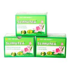 Liệu trình giảm cân từ 3 hộp trà sen SLimutea Học Viện Quân Y (3 hộp)
