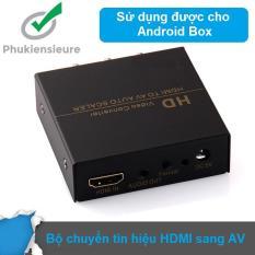 Bộ chuyển HDMI sang AV Audio Video Convert FJ-HA1308 (Đen)