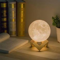 Đèn ngủ mặt trăng 3D cắm sạc trang trí cực đẹp (Size 10cm)