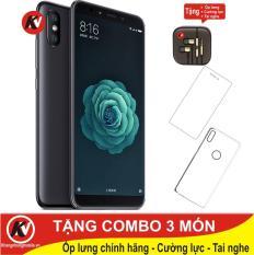 Mua Xiaomi Mi 6X 64GB Ram 6GB Kim Nhung (Đen) – Hàng nhập khẩu + Ốp lưng + Cường lực + Tai nghe ở đâu tốt?