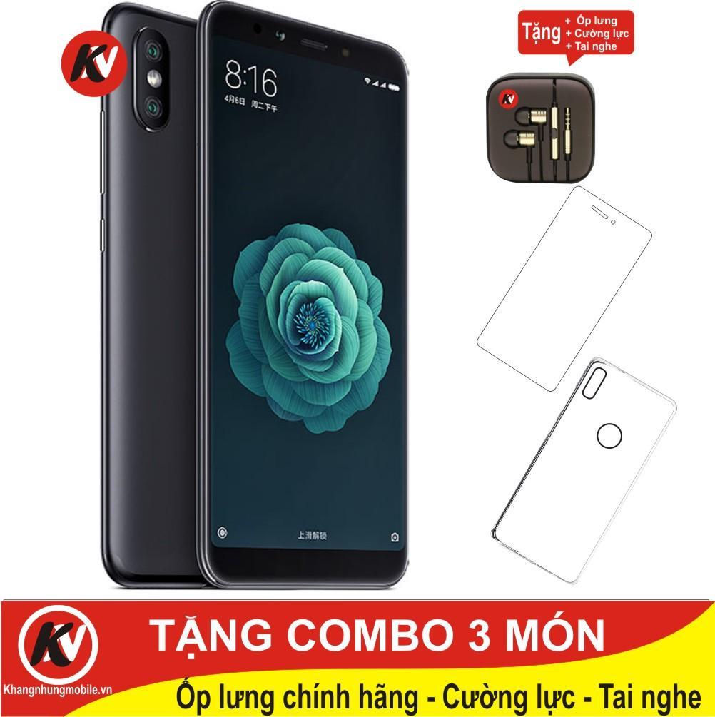 So sánh giá Xiaomi Mi 6X 64GB Ram 6GB Kim Nhung (Đen) – Hàng nhập khẩu + Ốp lưng + Cường lực + Tai nghe Tại Kim Nhung Mobile