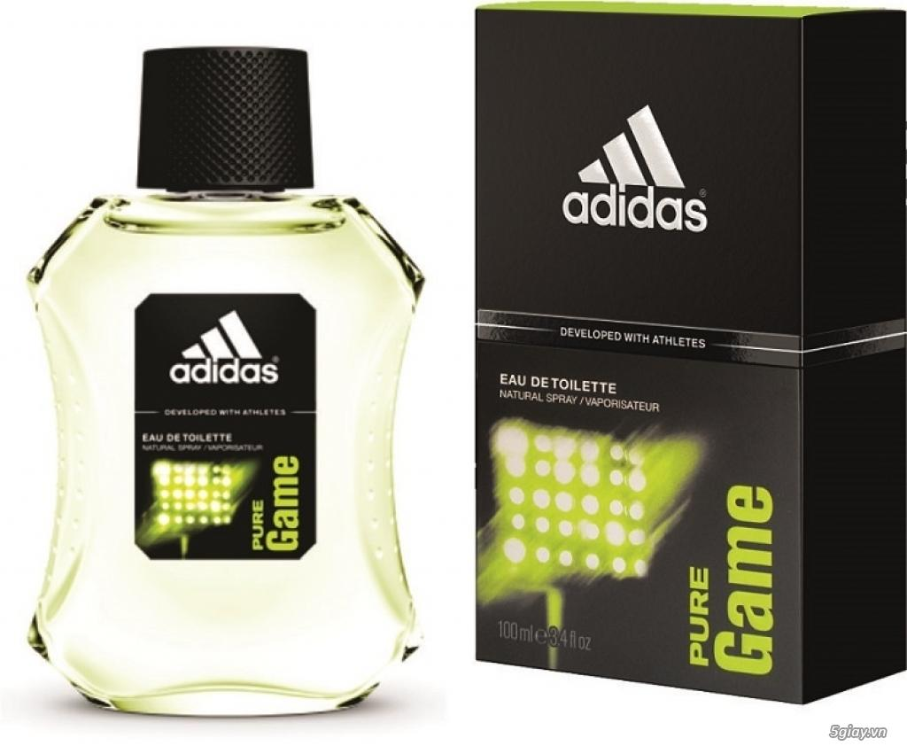 Nước Hoa Nam Adidas Eau de toilette 100 ml – Pure Game