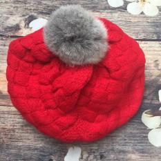 Mũ len cho bé, mũ nồi xinh xắn cho các bé gái (nhiều màu)