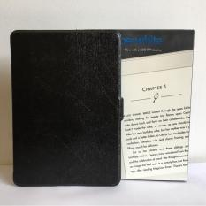 Máy Đọc Sách All-New Kindle PaperWhite (2018) và Bao da đen vằn