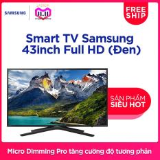 Smart TV Samsung 43inch Full HD – Model UA43N5500AKXXV (Đen) – Hãng phân phối chính thức Đang Bán Tại Samsung