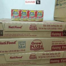 Sữa bột pha sẵn Nutifood Grow Plus đỏ 110ml (thùng 48 hộp)