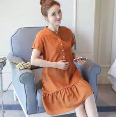 Đầm bầu váy bầu công sở thời trang Hàn Quốc