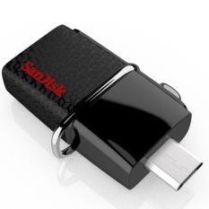 [TẶNG 10 BAO LÌ XÌ] USB OTG Sandisk 3.0 Ultra Dual 64GB 150MB/s (Đen) – Bảo hành 2 năm