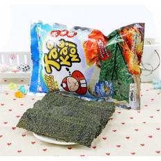 Combo 2 Gói Snack Rong biển Taokaenoi Sấy Crispy Seaweed vị Hải Sản 32g