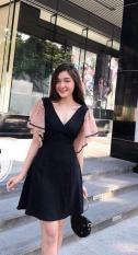 Đầm big size cỡ lớn giành cho người mập mặc đẹp dáng xoè cao cấp