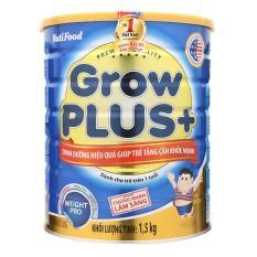 Sữa Bột Grow Plus Xanh NutiFood Hộp 1.5 Kg (Cho bé 1-10 tuổi)