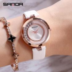 Đồng hồ nữ Sanda P245 Dây Da Cao Cấp mẫu mới – DH0806