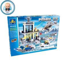 Xếp hình lego Cảnh sát biển tương lai