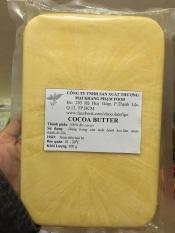 Bơ ca cao nguyên chất nguyên liệu làm bánh ( Cocoa Butter ) Figo 500gram