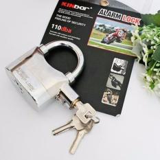 Ổ khóa chống trộm thông minh – Có còi báo động (Dùng Pin phát âm thanh hú)
