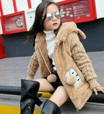 Áo khoác lông sang chảnh cho bé gái từ 14 tới 40 kg
