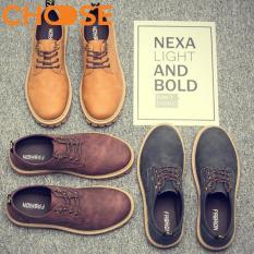 (GIAO HÀNG 24H)Giày Doctor Nam/Boots Màu Nâu Độn 2 Phân Cá Tính 2501