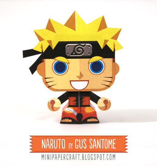 Bộ Xếp Hình Giấy Naruto Combo