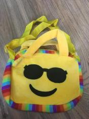 Túi đeo chéo mặt cười dễ thương cho bé
