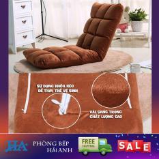 Ghế lười tựa lưng miễn phí vận chuyển tatami hạt xốp ngồi bệt chỉnh tư thế 5 cấp độ thông minh – GDHONGAC01