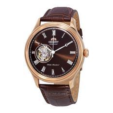 Đồng hồ nam dây da Orient Caballero FAG00001T0 ( Rose gold)