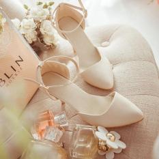 Giày cao gót da mềm