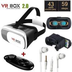 Kính thực tế ảo Vr Box 2 và tay chơi game Android Bluetooth 3.0 tặng tai nghe J5